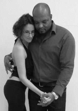 Tinka Meier und Patrick Ndedi  tanzen Kizomba