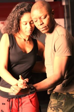 Alena und Tony tanzen Kizomba