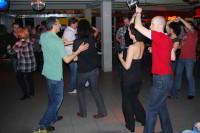 Rueda in der Salsa Practica