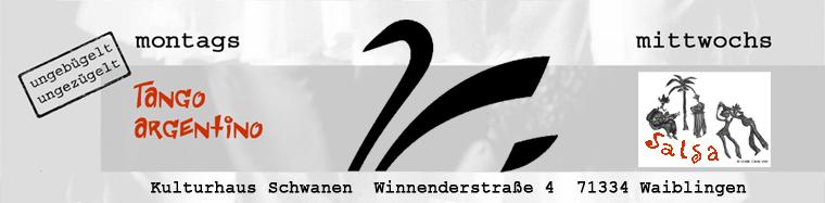 Tanzen im Kulturhaus Schwanen in Waiblingen